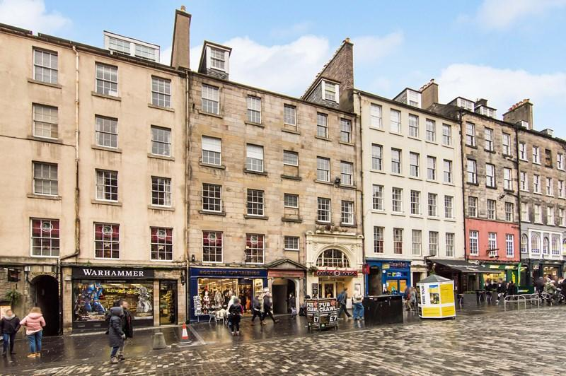 1 Bedroom Property for sale in 142, Flat 5, New Assembly Close High Street, Edinburgh, City Of Edinburgh, EH1 1QQ