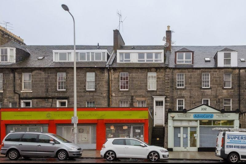 1 Bedroom Property for sale in 334 (2F) Leith Walk, Edinburgh, EH6 5BR