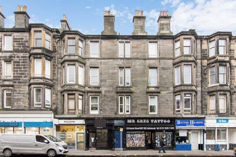 1 Bedroom Property for sale in Flat 11, 51 Easter Road, Easter Road, Edinburgh, EH7 5PL