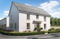 David Wilson Homes The Brora, Glenluce Drive, Bishopton, Renfrewshire, PA7 5FW